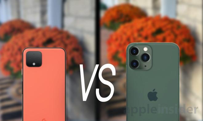 iphone 11 vs pixel 4