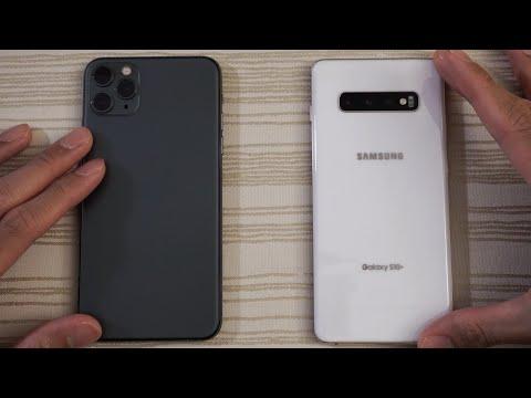 iphone 11 vs samsung galaxy s10
