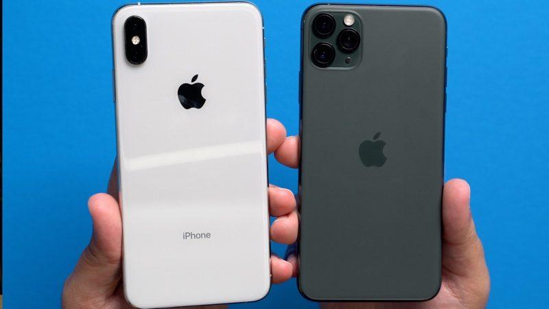 iphone xs vs iphone 11 pro