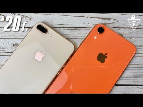 iphone xr vs iphone 8 plus