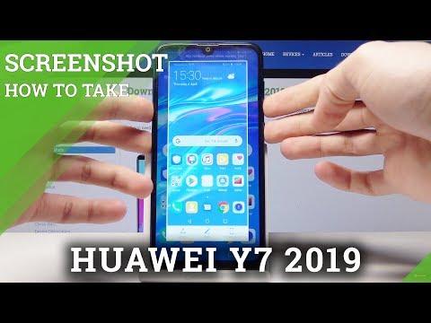 how to screenshot on a huawei
