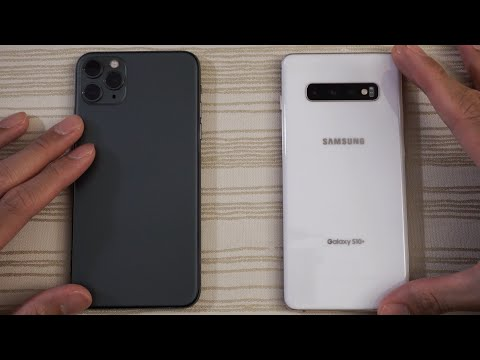 iphone 11 vs samsung s10