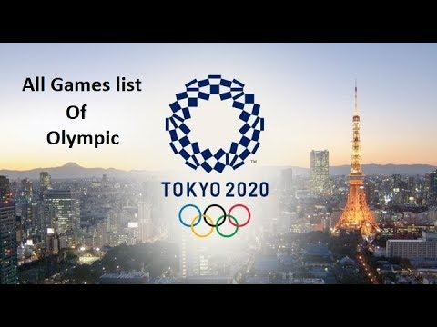 2020 olympic games