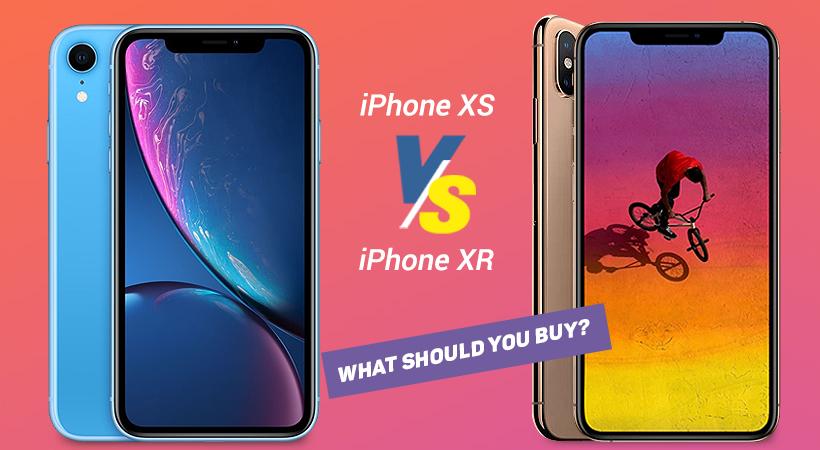 iphone xr vs xs
