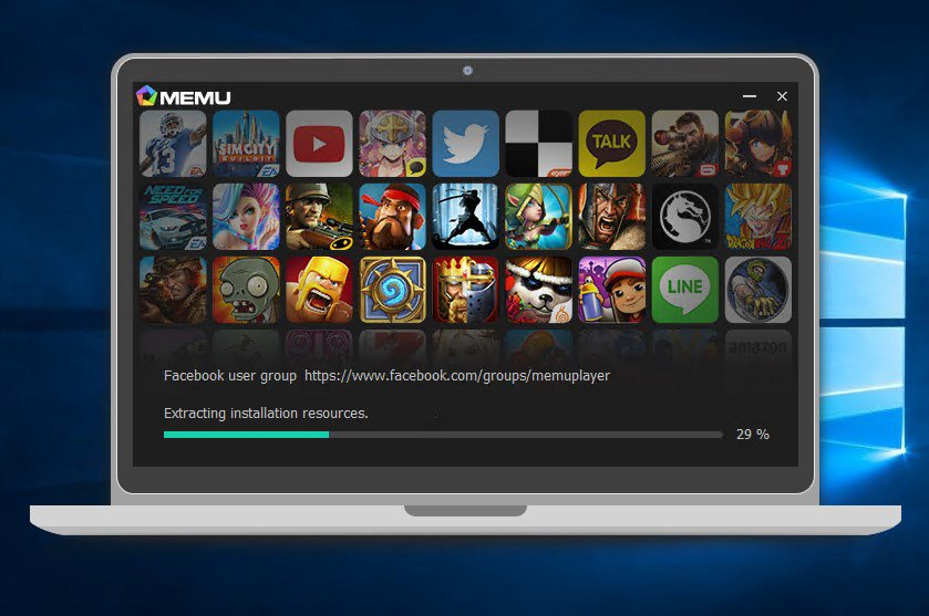 android emulator pc